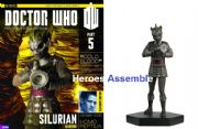 Doctor Who Figurine Collection #005 Silurian Warrior Eaglemoss